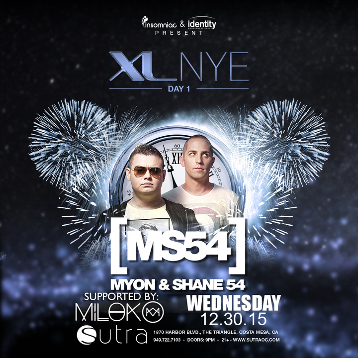 DJ Milok @ Sutra - Costa Mesa, CA
