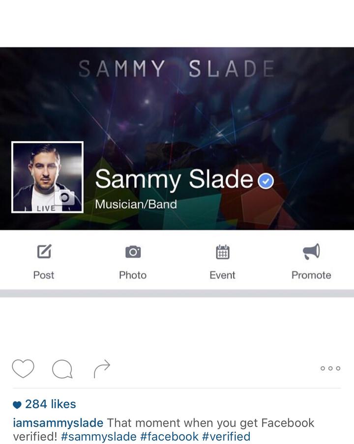 Sam Slade Tour Dates
