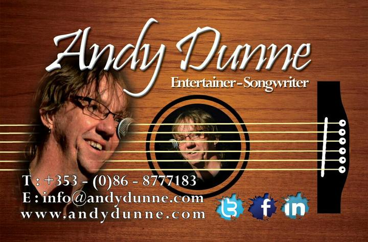 ANDY DUNNE Tour Dates