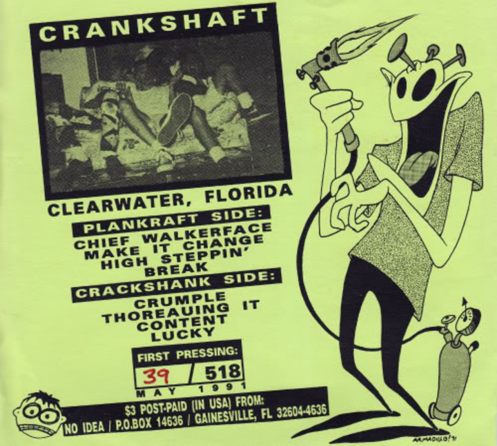 Crankshaft Tour Dates