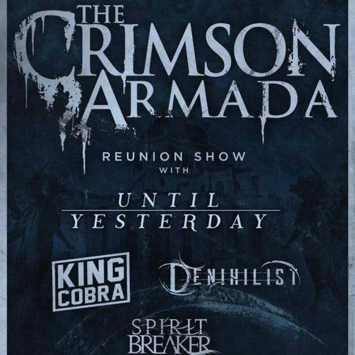 The Crimson Armada Tour Dates