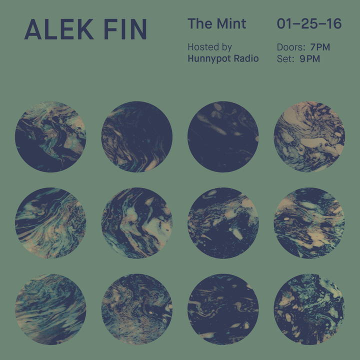 ALEK FIN @ The Mint - Los Angeles, CA