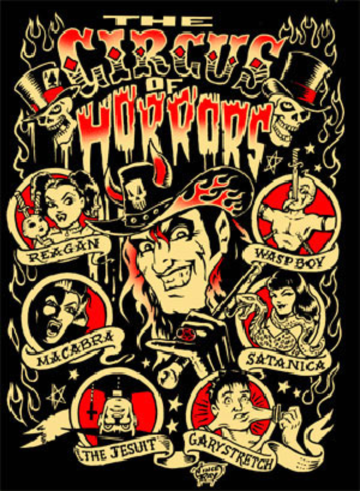 Circus of Horrors Tour Dates