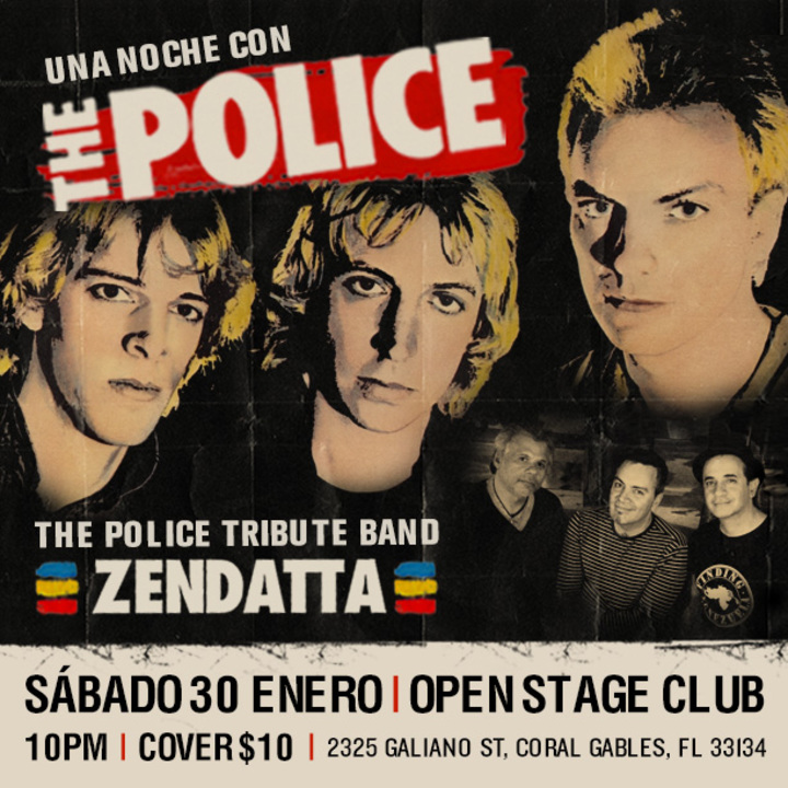 Zendatta The Police Tribute Band Tour Dates