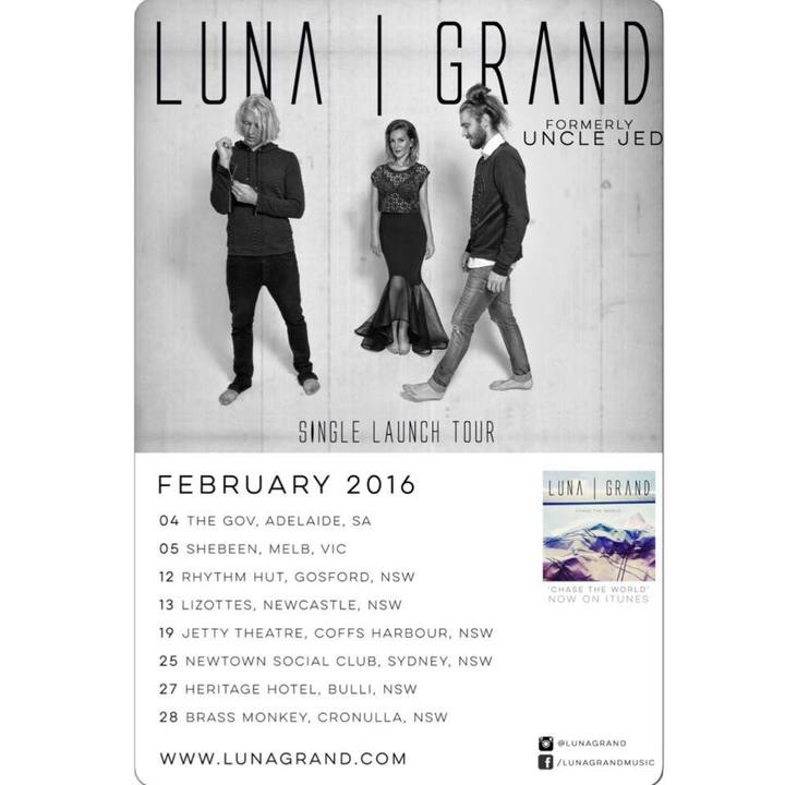 Luna Grand Tour Dates