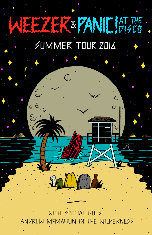 Panic! At The Disco @ Bayfront Park Amphitheater - Miami, FL