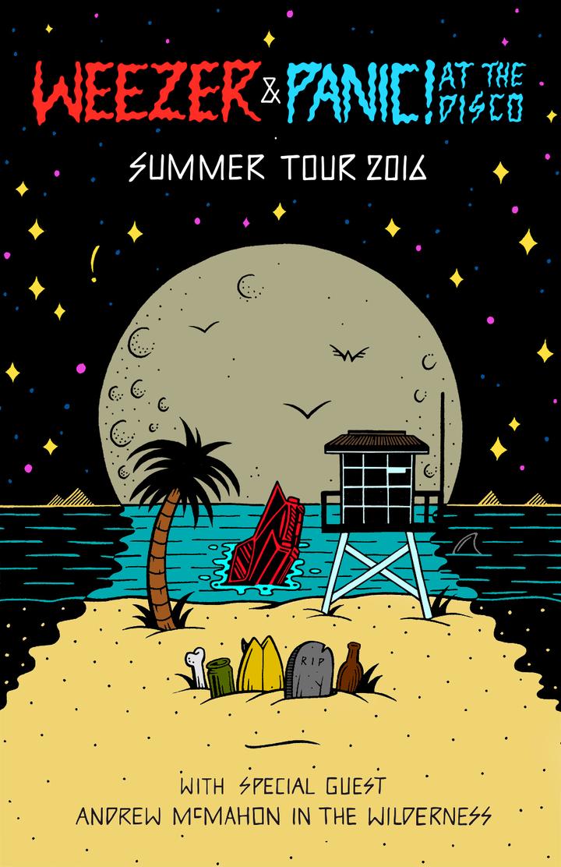 Panic! At The Disco @ MIDFLORIDA Credit Union Amphitheater - Tampa, FL