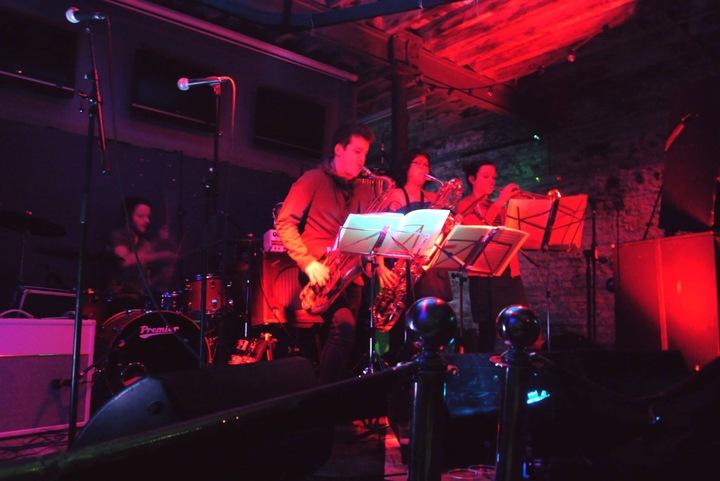 The Blowback Horns @ Arts Club Bar - Liverpool, United Kingdom