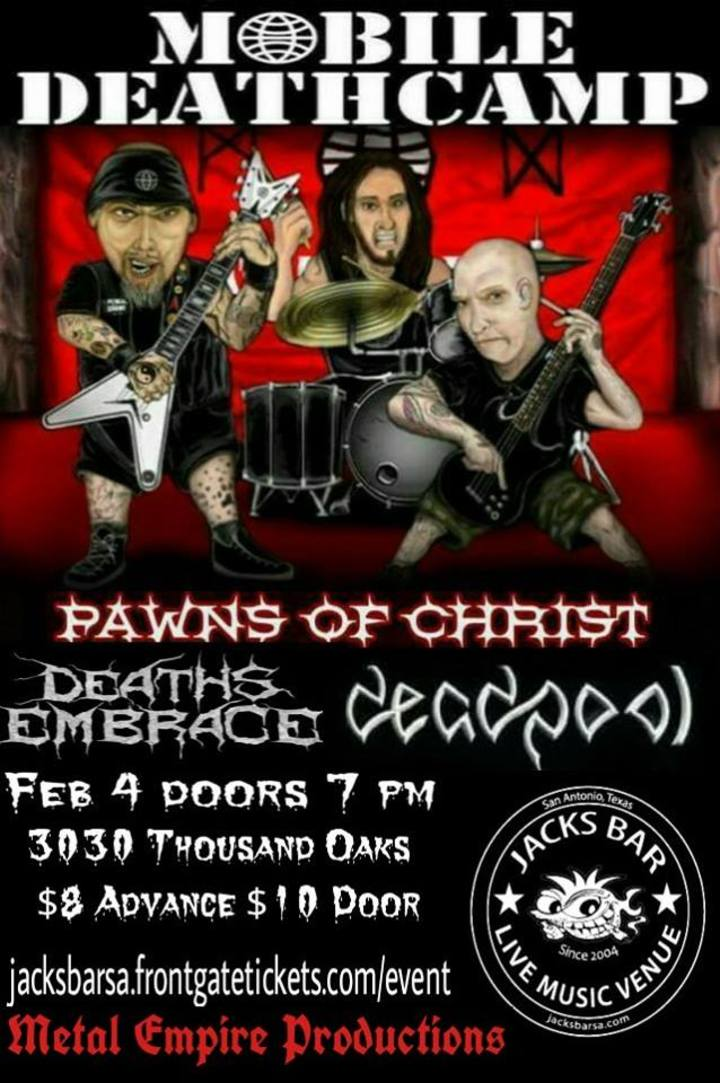Great Pawns Of Christ @ Jacks Patio Bar   San Antonio, TX