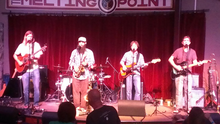 Sol Driven Train @ The Melting Point - Athens, GA