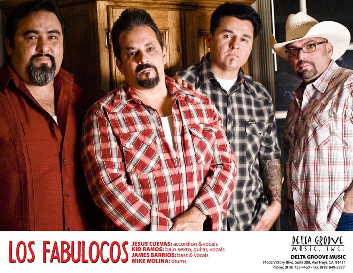 Los Fabulocos Tour Dates
