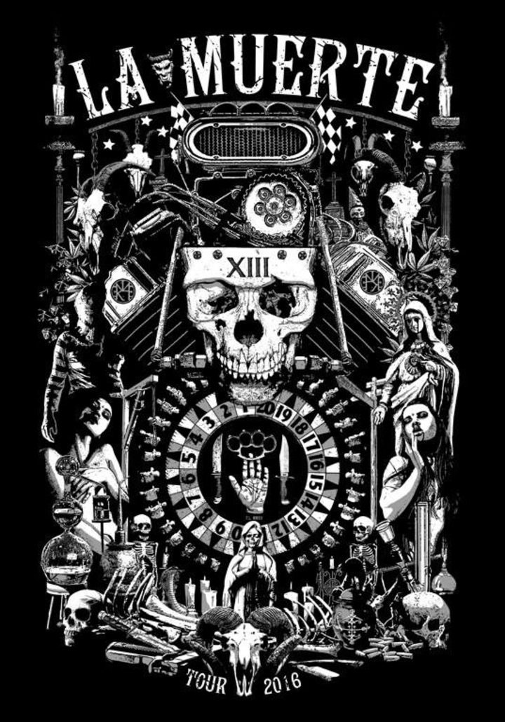 La Muerte Tour Dates