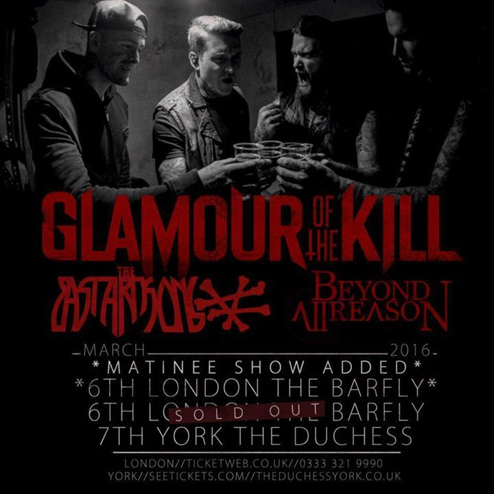 Glamour of the Kill @ Tyrol - Stockholm, Sweden