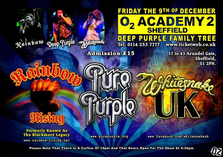 Whitesnake UK (the tribute) @ O2 Academy 2 - Sheffield, United Kingdom