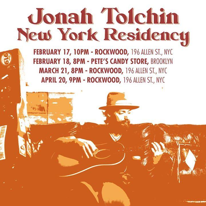 Jonah Tolchin @ The WorkPlay Theatre - Birmingham, AL