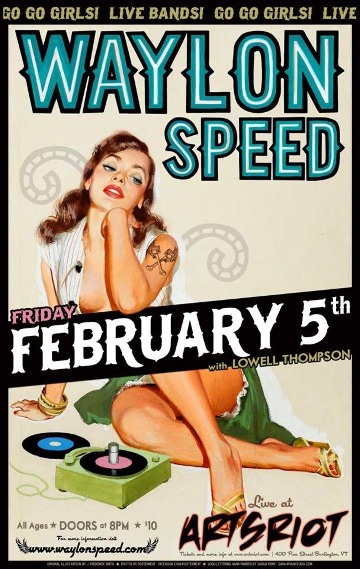 Waylon Speed! @ The Putnam Den - Saratoga Springs, NY