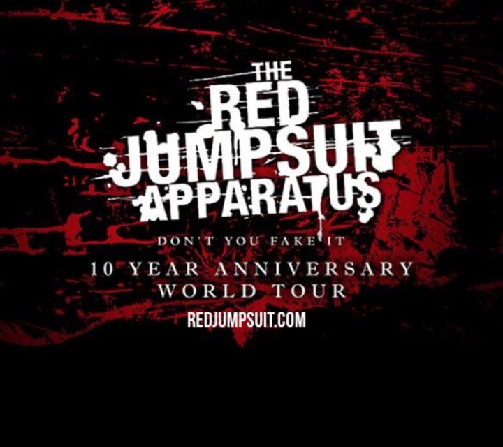 The Red Jumpsuit Apparatus Tour Dates