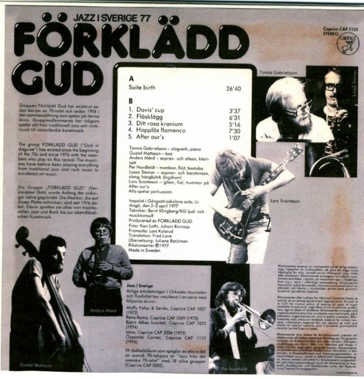Förklädd Gud @ Folkoperan - Stockholm, Sweden