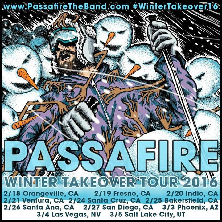 Passafire @ Greene Street ALL AGES / EARLY SHOW - Greensboro, NC