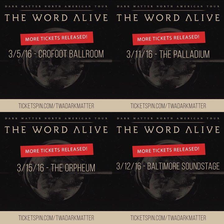 The Word Alive @ Edmonton Events Center - Edmonton, Canada