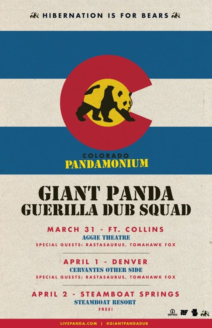 Giant Panda Guerilla Dub Squad @ Cafe Eleven - St Augustine, FL