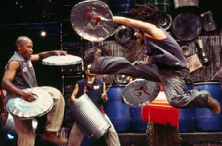 Stomp @ Ambassadors Theatre - London, United Kingdom