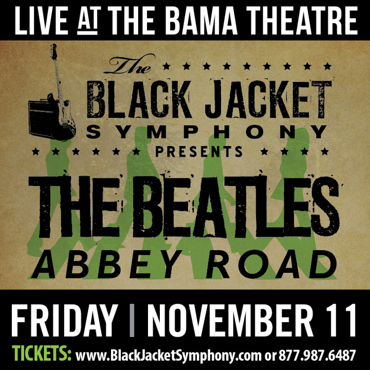The Black Jacket Symphony - Tuscaloosa Concert Tickets - The Black