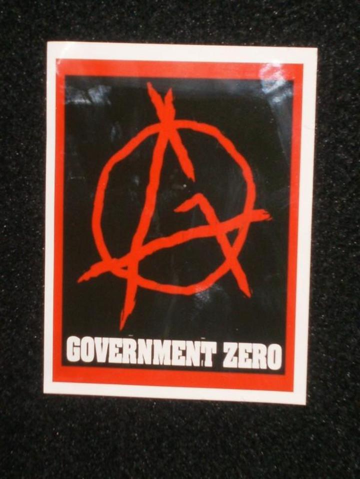 Government Zero Tour Dates
