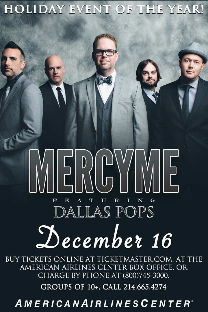 MercyMe @ MercyMe & The Dallas Pops / American Airlines Center - Dallas, TX
