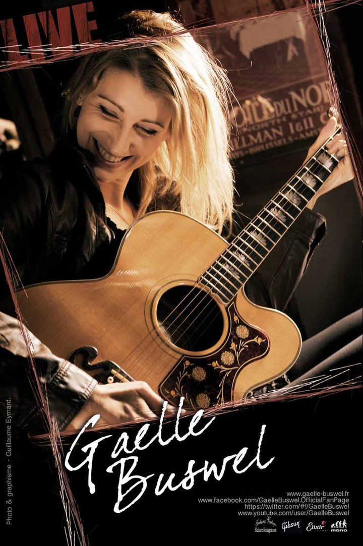 Gaelle Buswel Tour Dates