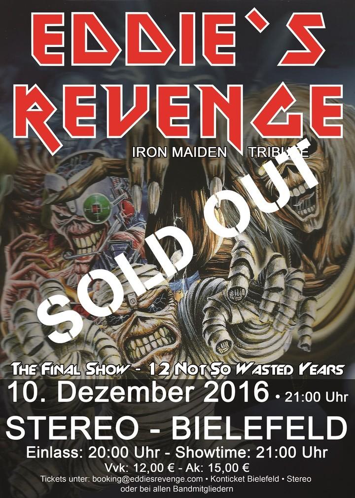 Eddie's Revenge @ Stereo - Bielefeld, Germany