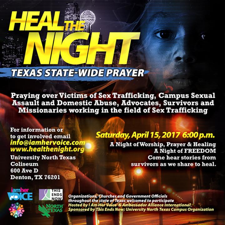 I Am Her Voice @ University North Texas - Denton, TX