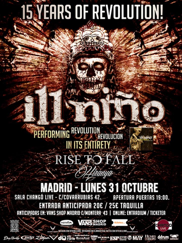 Hiranya @ Sala Changó (Ill Niño + Rise To Fall + Hiranya) - Madrid, Spain