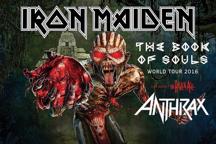 Anthrax @ Nilson Nelson Arena - Brasilia, Brazil