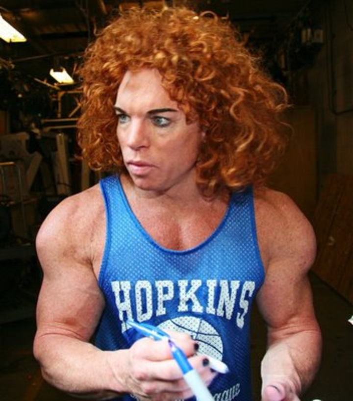 Carrot Top @ JABBA Theatre at Luxor Hotel and Casino Las Vegas - Las Vegas, NV