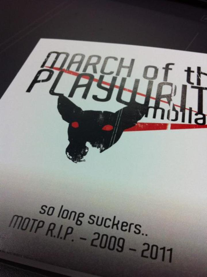 march of the playwrite Tour Dates
