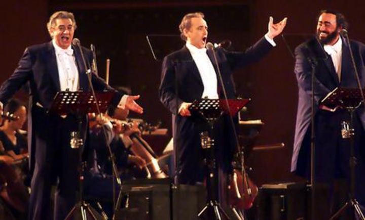 The Three Tenors Tour Dates