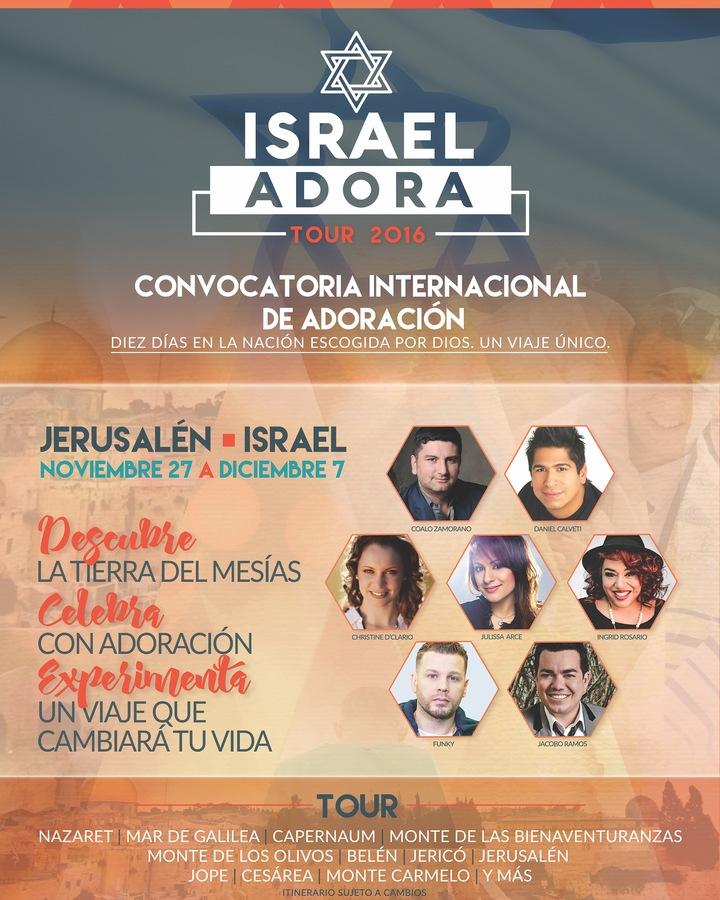 Ingrid Rosario @ Israel Adora 2016 - Jerusalem, Israel