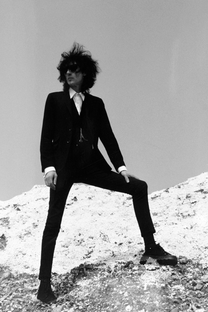 John Cooper Clarke @ Crystal Palace - Auckland, New Zealand