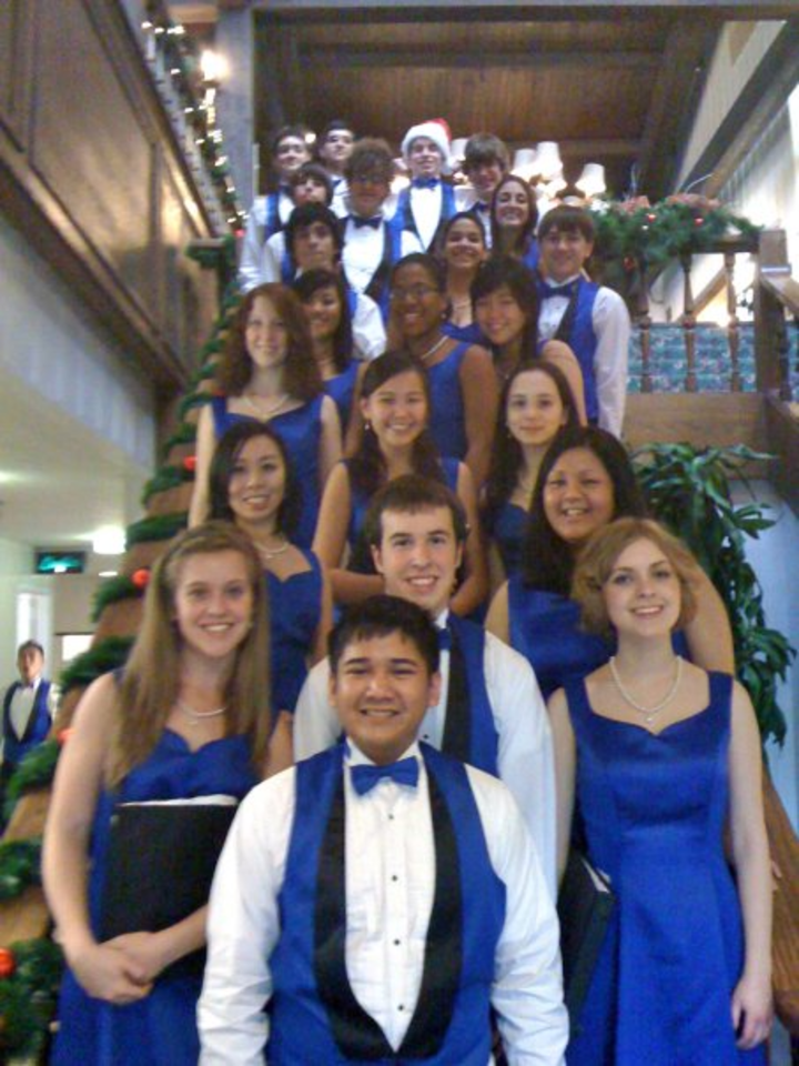 Chamber Singers @ Bailey Performance Center, Morgan Hall - Kennesaw, GA