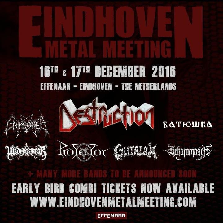 Enthroned @ Effenaar - Eindhoven, Netherlands