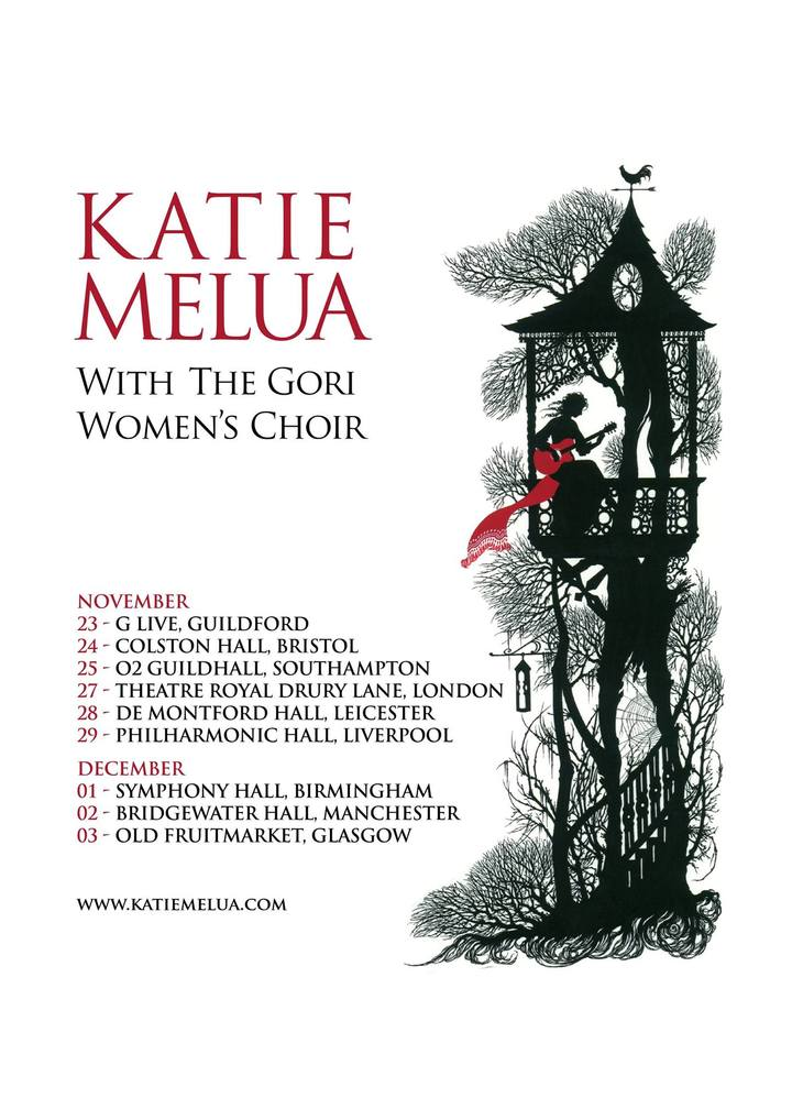 Katie Melua @ Theatre Royal Drury Lane - London, United Kingdom