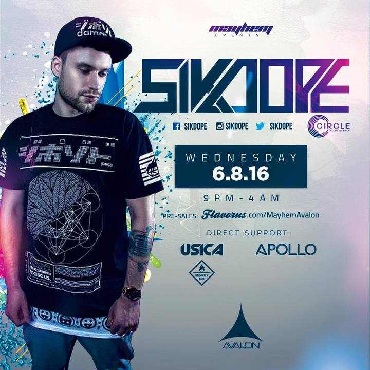 DJ Milok @ Avalon Hollywood - Los Angeles, CA