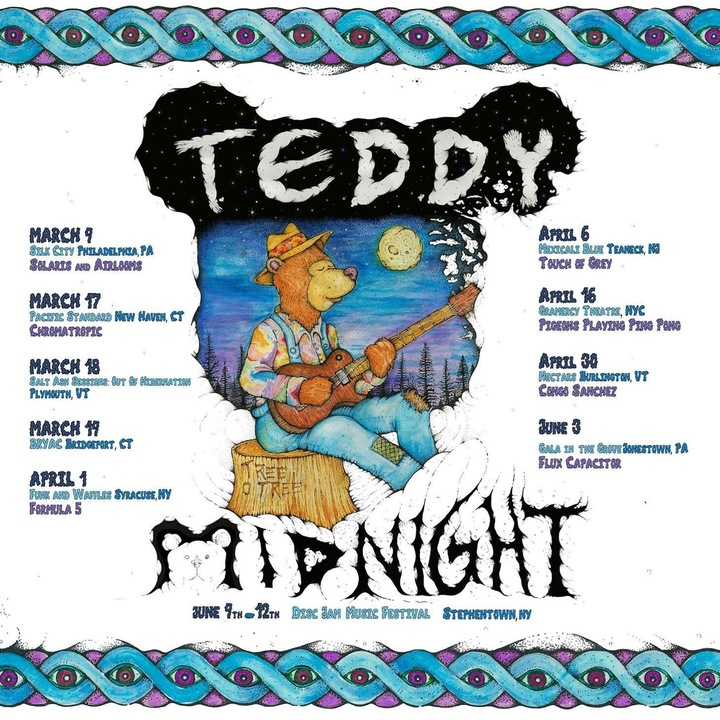 Teddy Midnight Tour Dates