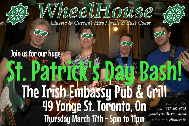 WheelHouse - Toronto Tour Dates