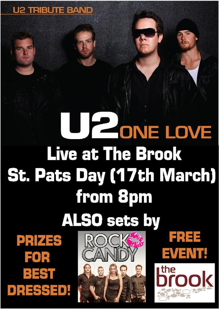 Bandsintown | One Love - U2 Tribute show Tickets - The Brook