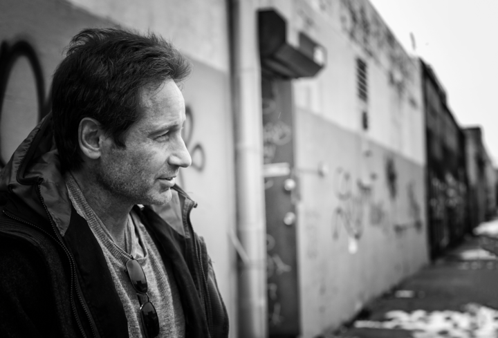 David Duchovny @ The Powerstation - Auckland, New Zealand