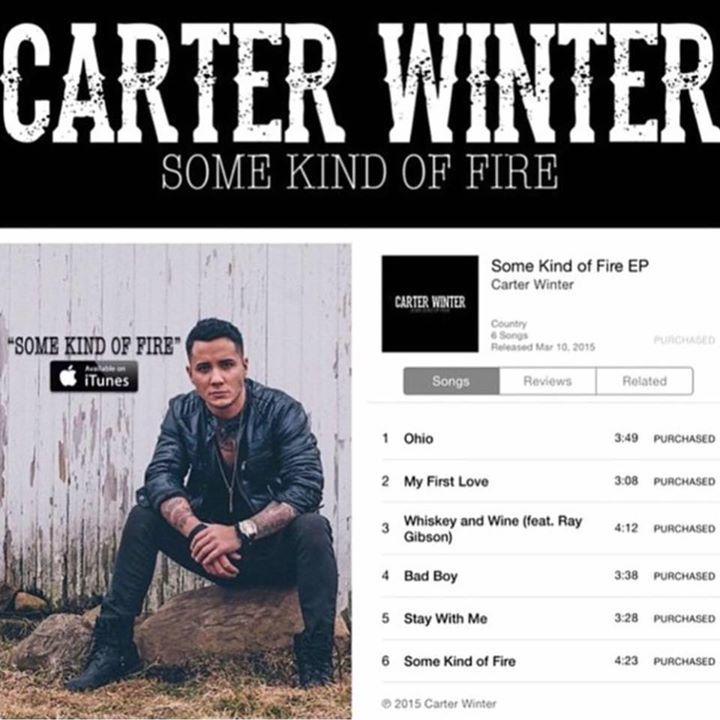 Carter Winter Tour Dates