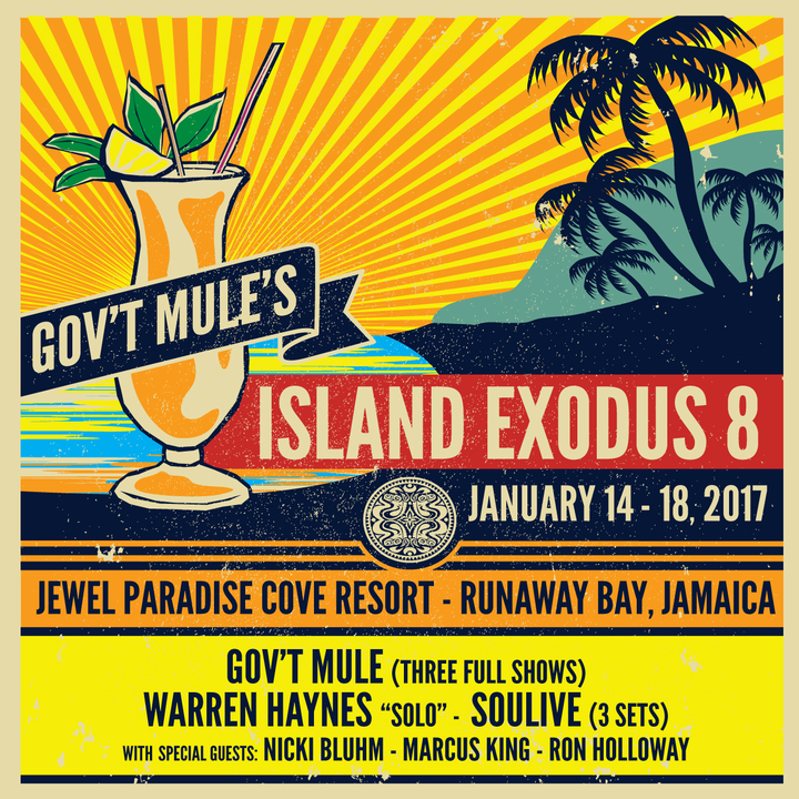 Gov't Mule @ Jewel Paradise Cove - Runaway Bay, Jamaica