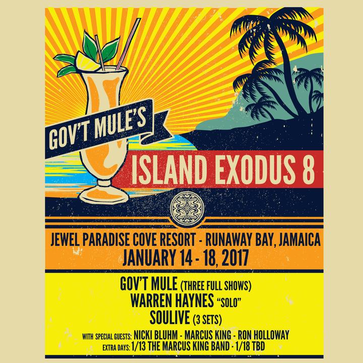 Warren Haynes @ Jewel Paradise Cove - Runaway Bay, Jamaica